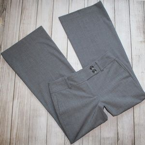 ANN TAYLOR Size 8P Pants Gray 8 Petite SIGNATURE